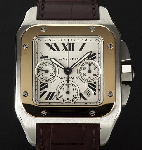 Cartier Santos 100 Chronograph Replica Watches