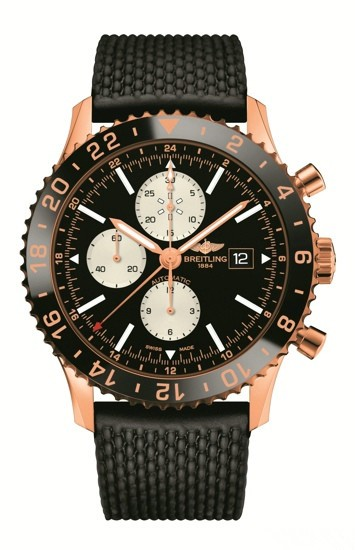 Breitling Navitimer Replica Watches Red Gold Version